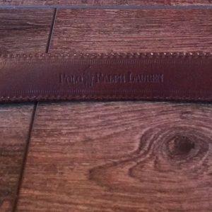 Ralph Lauren lizard skin belt